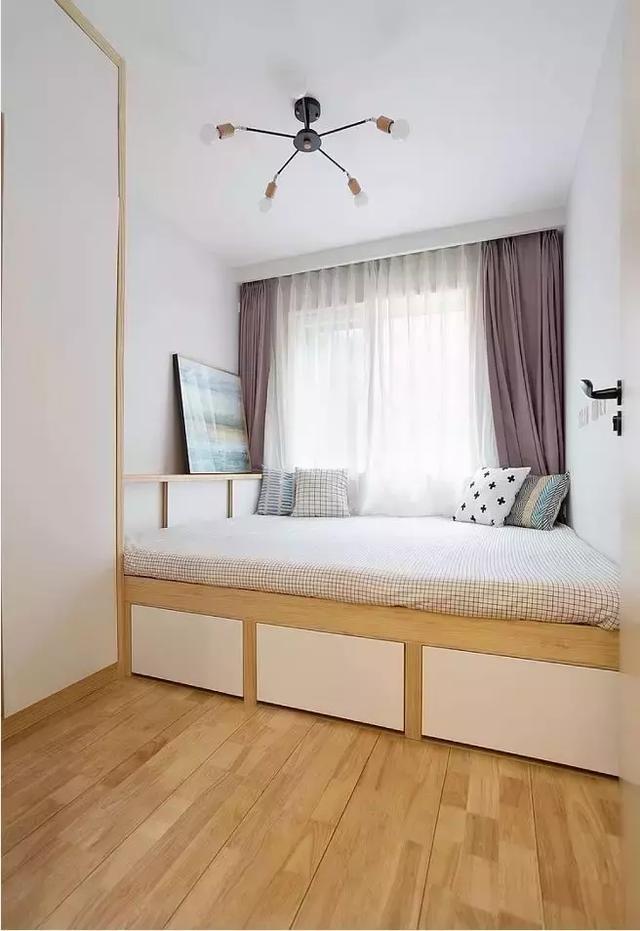 50平-小户型两居室餐厅还可以这样划分14052706
