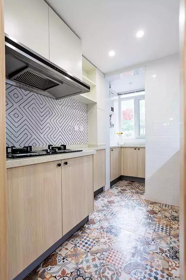 50平-小户型两居室餐厅还可以这样划分14052705