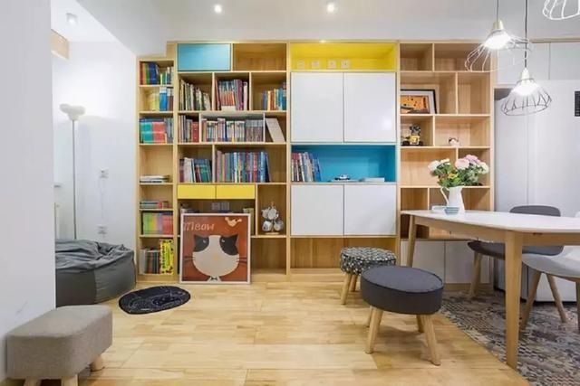 50平-小户型两居室餐厅还可以这样划分14052712