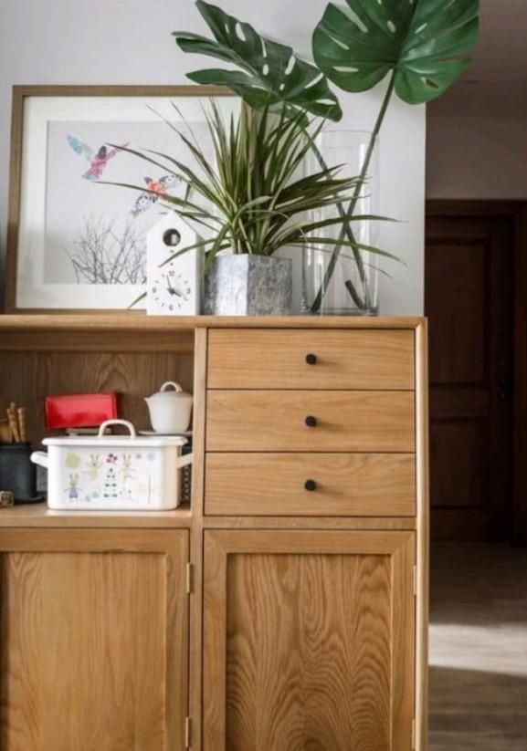 150㎡原木风家装,混搭中式日式森系14055948