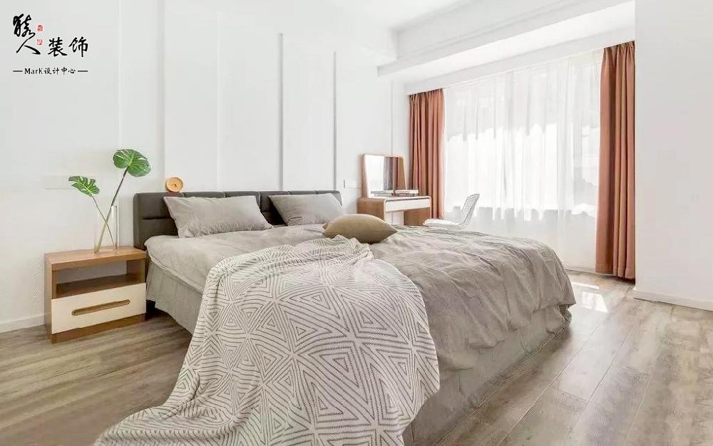 120㎡北欧风格,三室两厅超值设计14105181