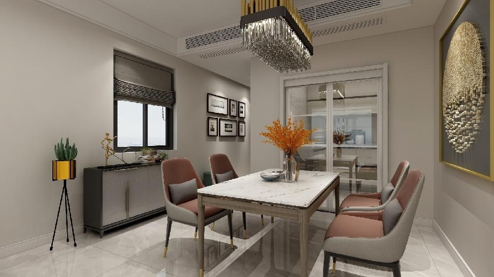 102㎡现代新公寓设计 惬意与高贵14107960
