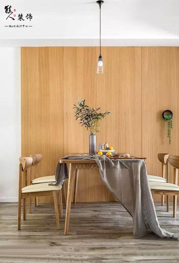 120㎡北欧风格,三室两厅超值设计14105176