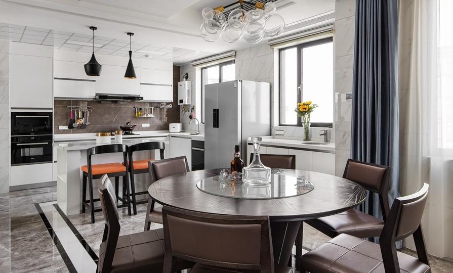 300平現代簡約新房裝修,讓生活回歸本質14130856