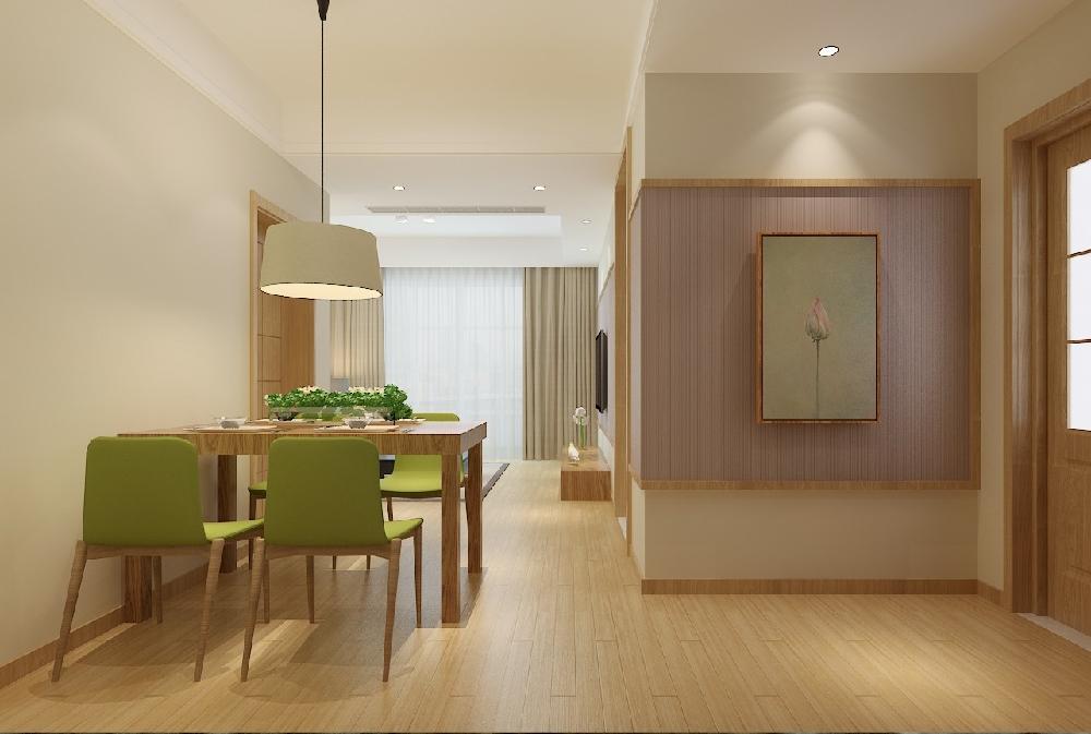 天下錦城85㎡簡約中式兩室一廳14165982