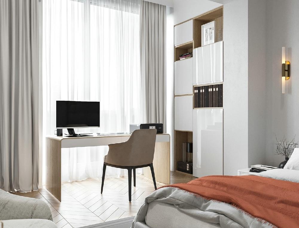 55平方纯白北欧一居室14203980