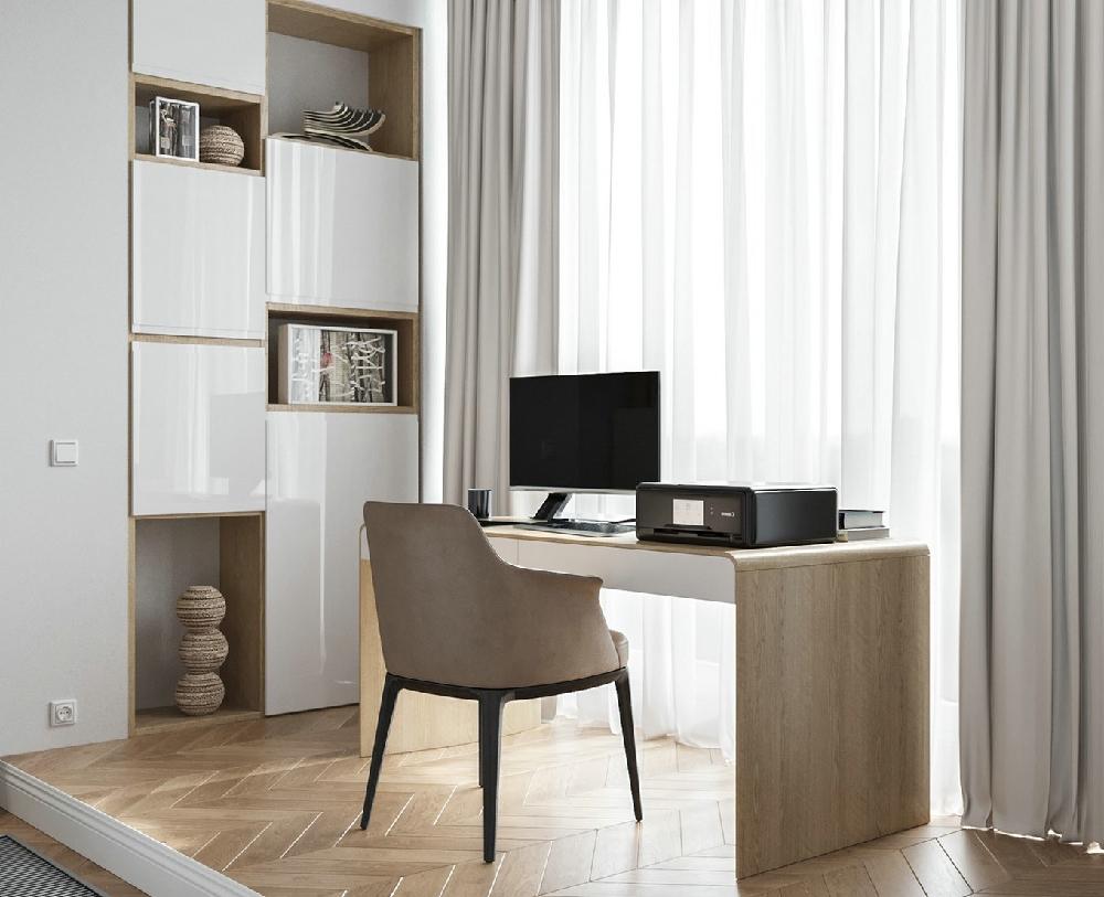 55平方纯白北欧一居室14203981