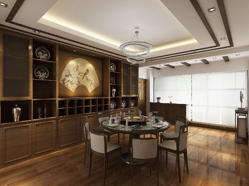 210平方复式楼现代中式风格14198319