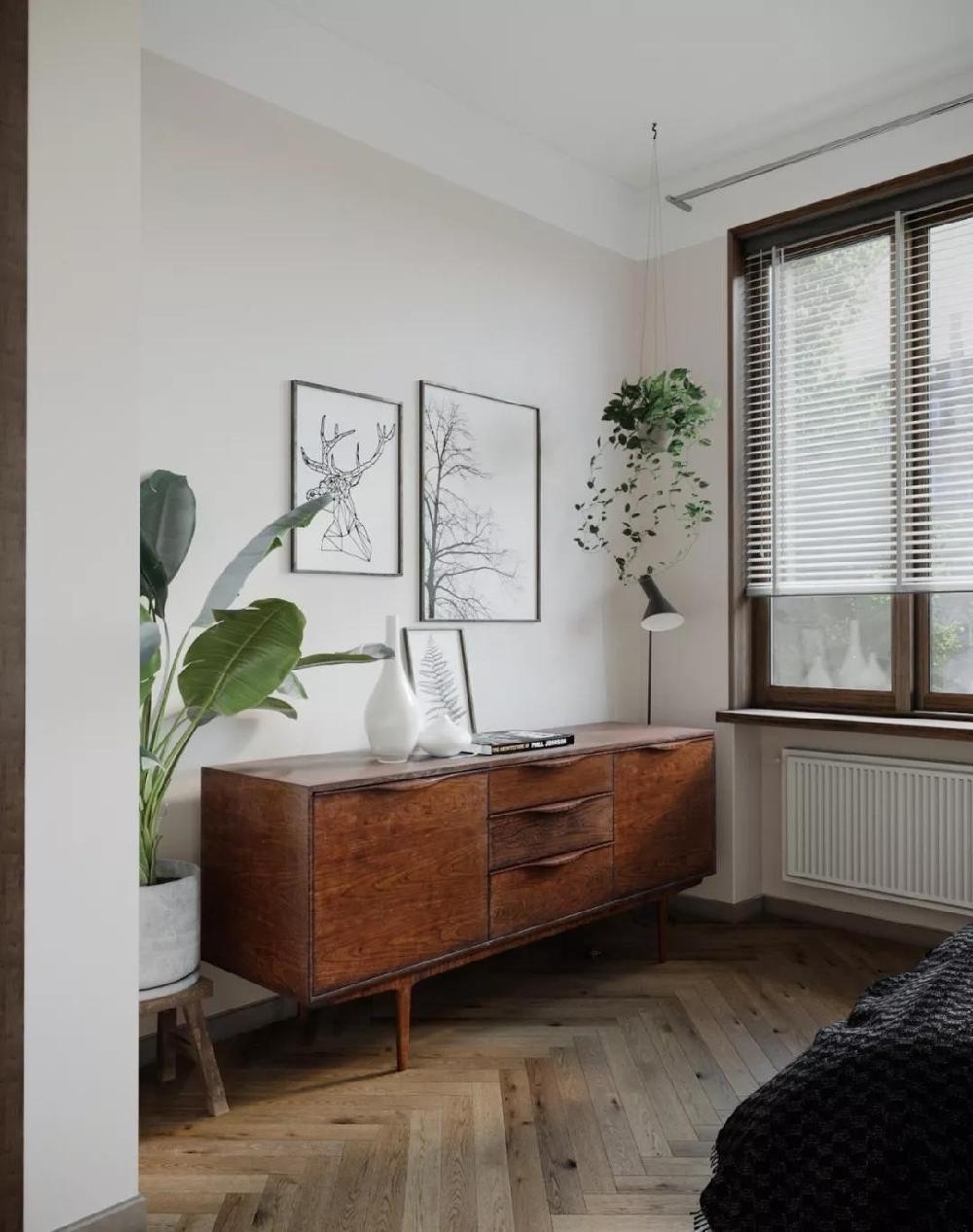 一室一厅的小宅,小平米也有大设计14223638