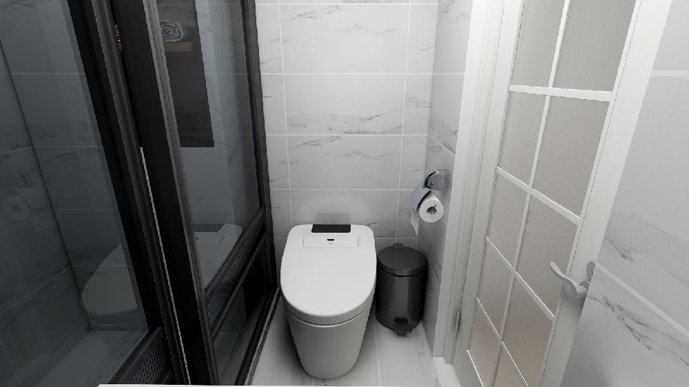 51平米小户型简约一居室!14249028
