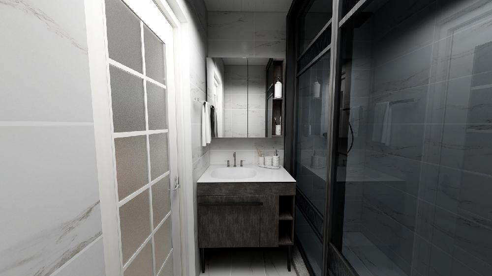 51平米小户型简约一居室!14249029