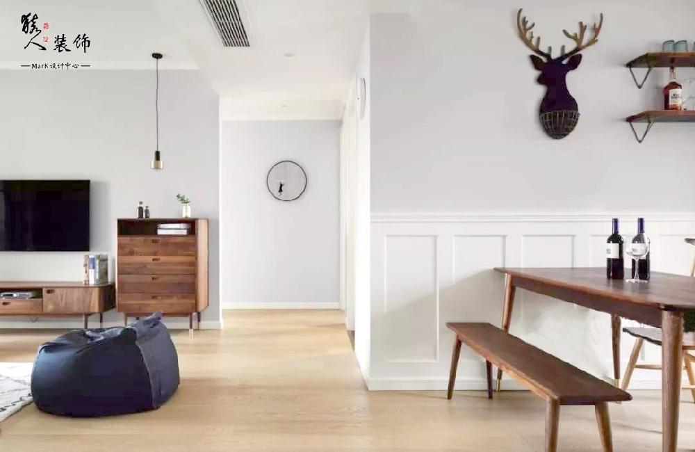 120平北欧三居,优雅浪漫的新房14250741