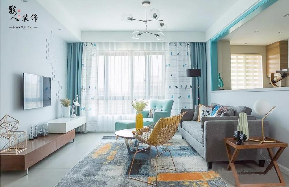 128平新房,这设计太个性,阳台好漂亮!14252526