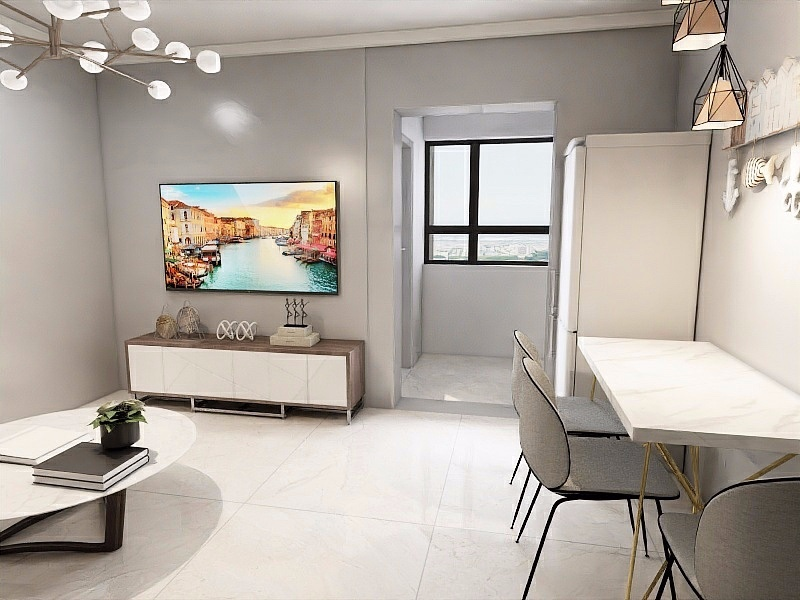 51平米小户型简约一居室!14249024
