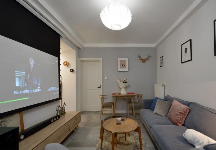 51平米一室户北欧风格14251696