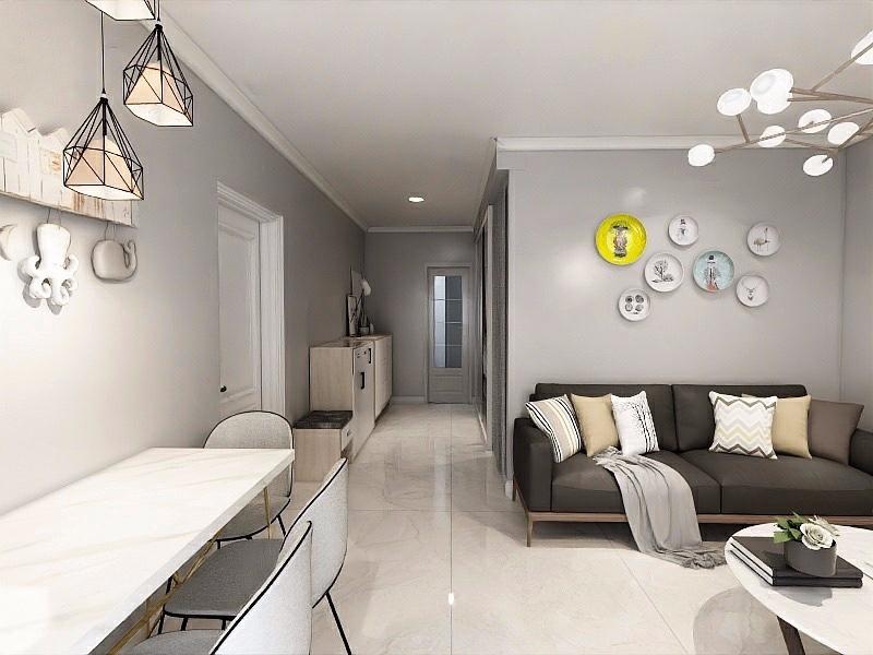 51平米小户型简约一居室!14249023