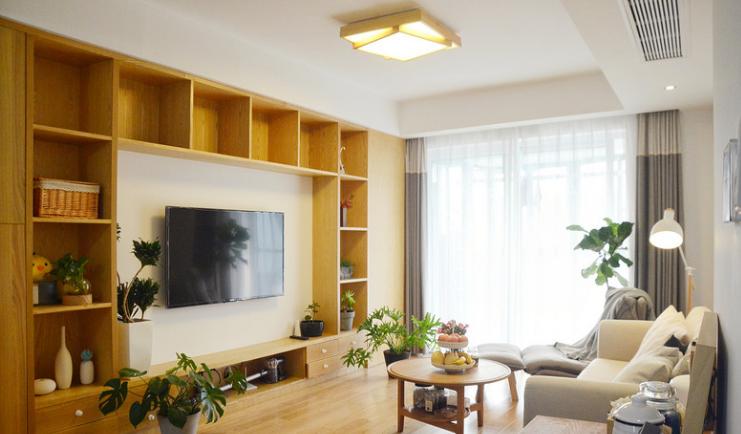 117平新房装修,日式风格小家装修记14344525