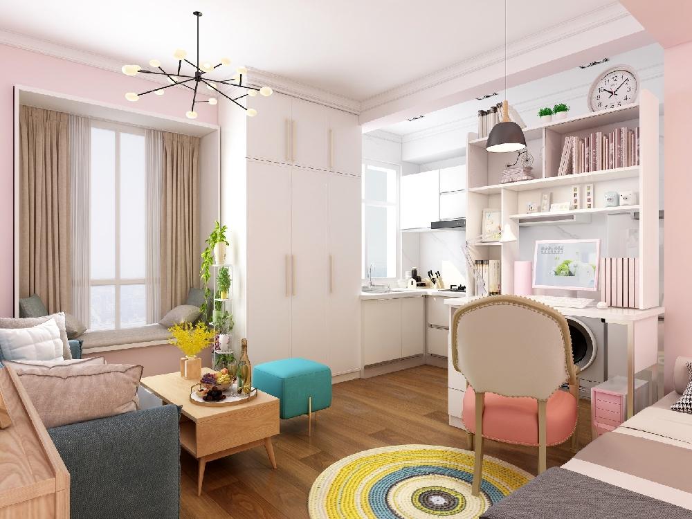 32平米單身公寓之百變空間14475167