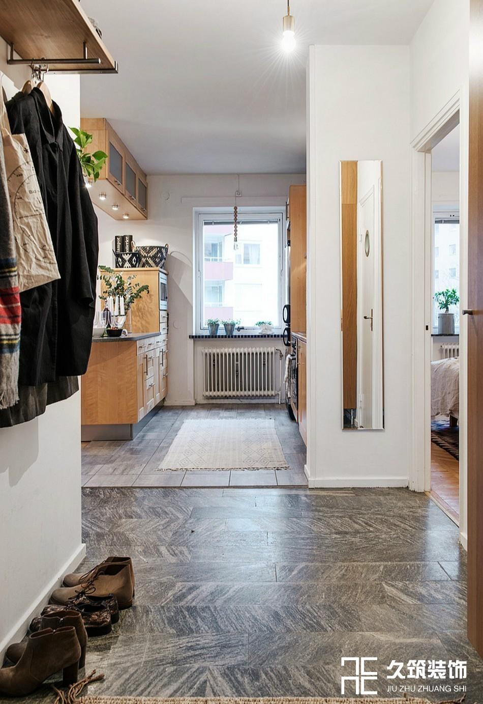 49㎡现代简约一居室小户型设计14476912