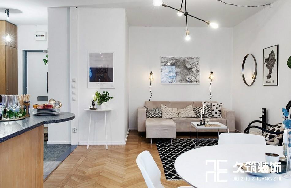 49㎡現代簡約一居室小戶型設計14476909