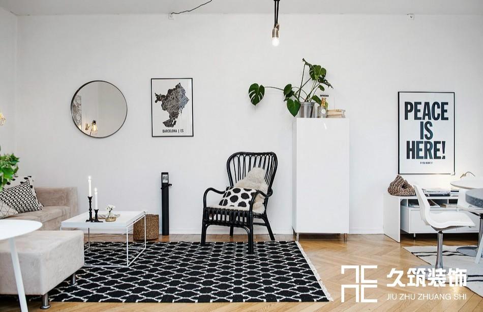 49㎡现代简约一居室小户型设计14476920