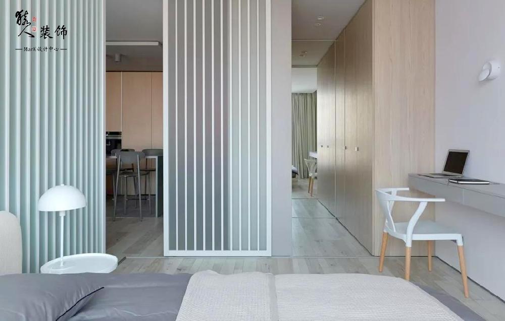 53㎡ 简约,一室一厅这样设计超省空间!14572450