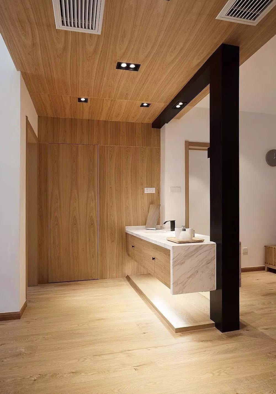 114㎡木地板 爬上墙,毫无违和感14652846