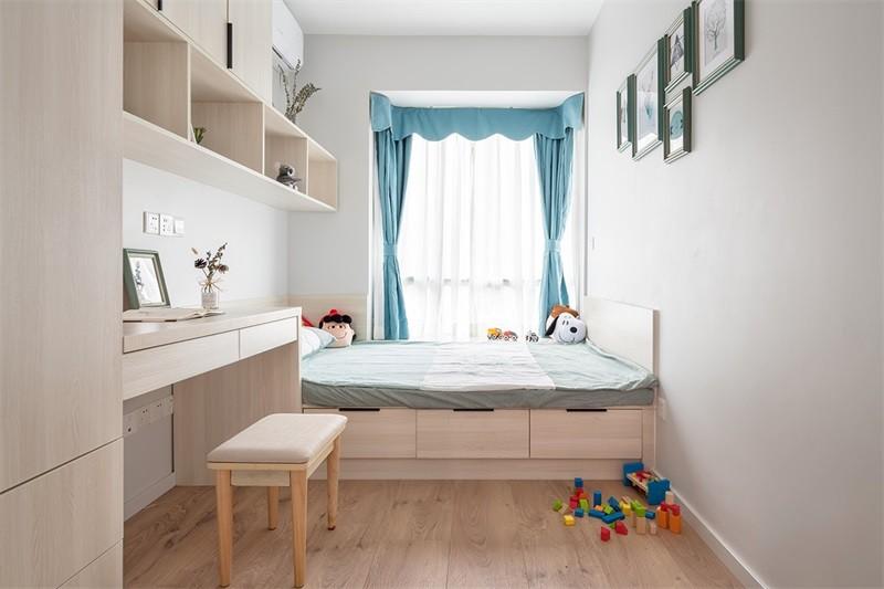 蓝光香江国际114㎡三居室北欧风格效果图14796633