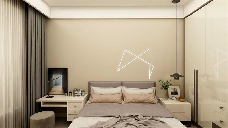蓝光香江国际114㎡三居室北欧风格效果图14792068