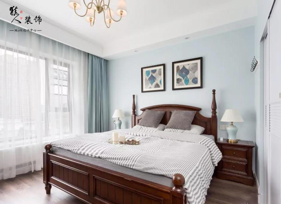120平簡美三室 淡藍色墻面貫穿整屋14862004