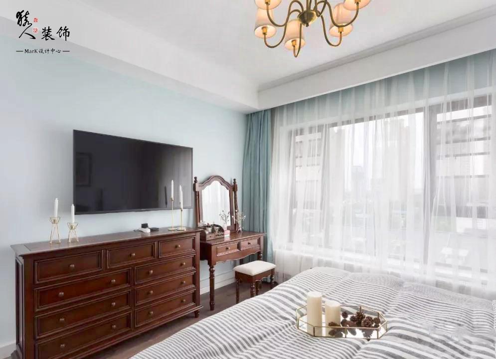 120平簡美三室 淡藍色墻面貫穿整屋14862005