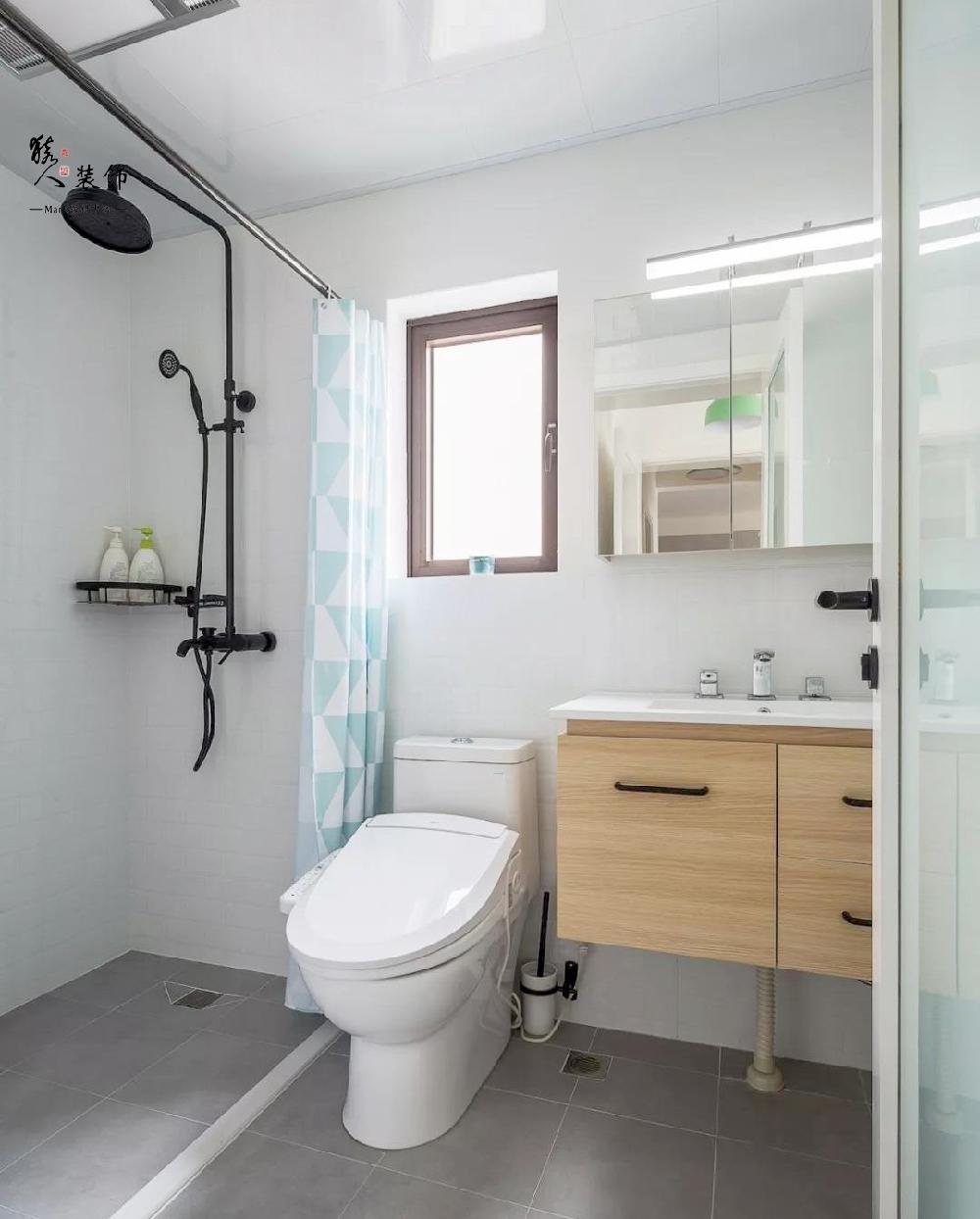 90平简约北欧三室 转角厨房超大空间14867423
