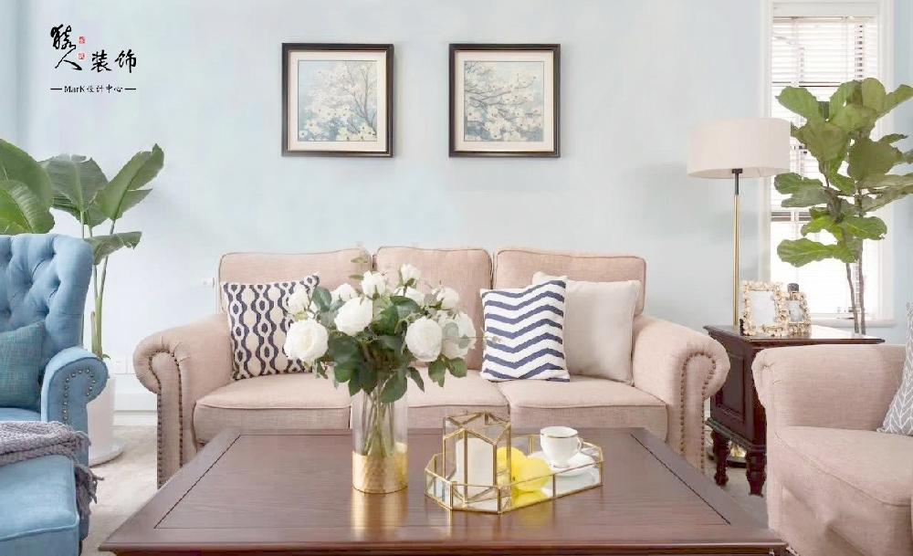 120平簡美三室 淡藍色墻面貫穿整屋14861995