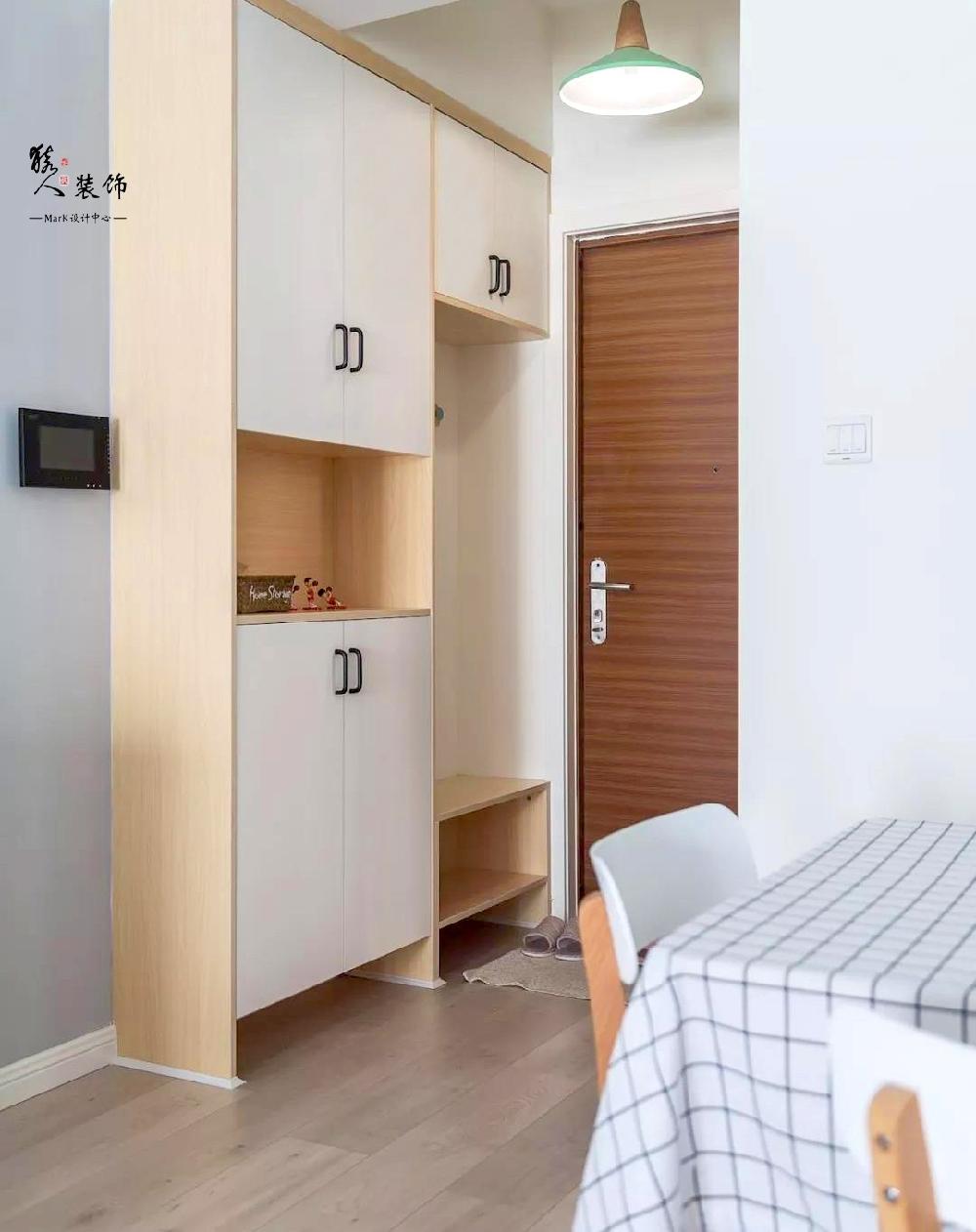 90平简约北欧三室 转角厨房超大空间14867411