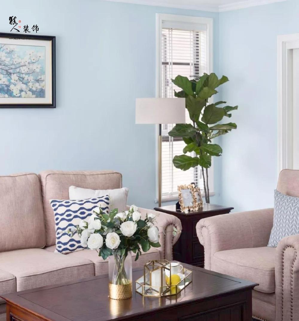 120平簡美三室 淡藍色墻面貫穿整屋14861997