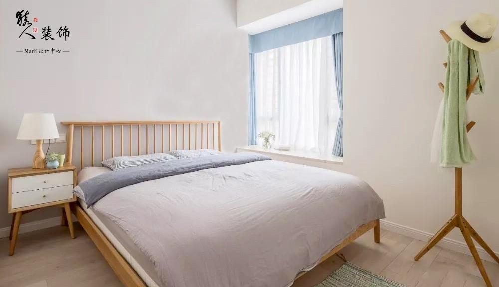 90平简约北欧三室 转角厨房超大空间14867421