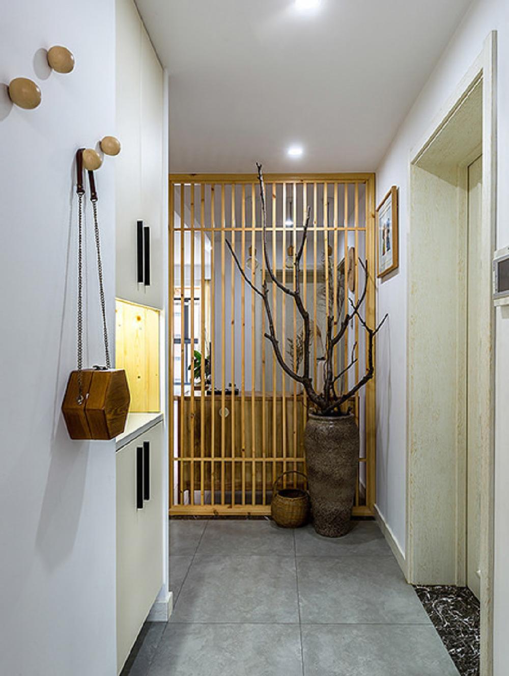 80㎡现代风格, 木色养心。14890099