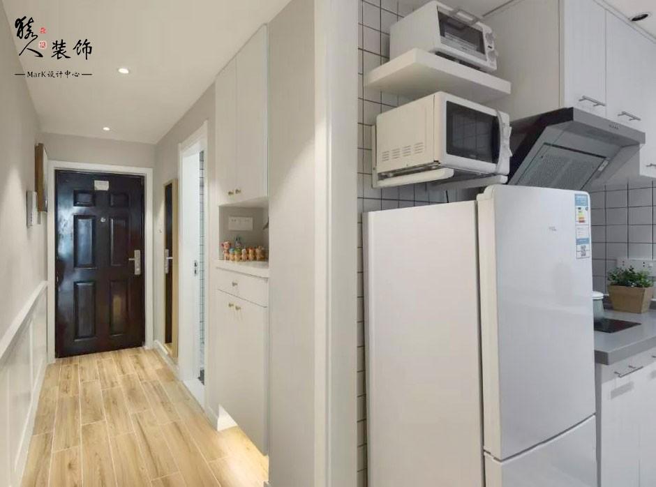 45平北欧小公寓 餐厅吧台休闲一体化14991563