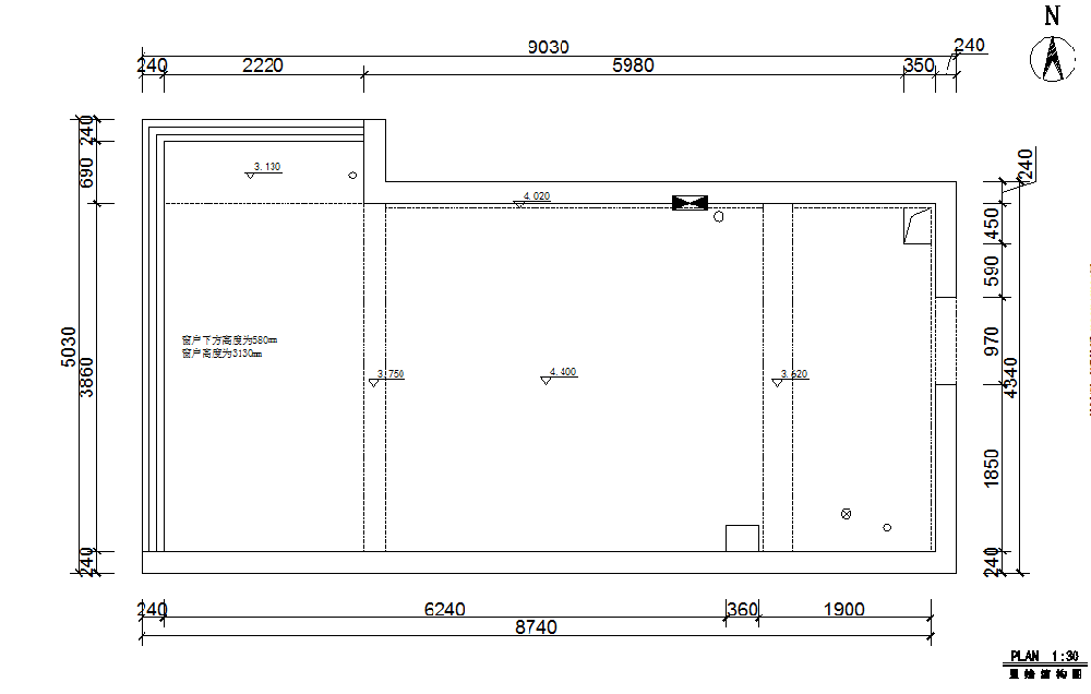 50平方小复式单身公寓1554584
