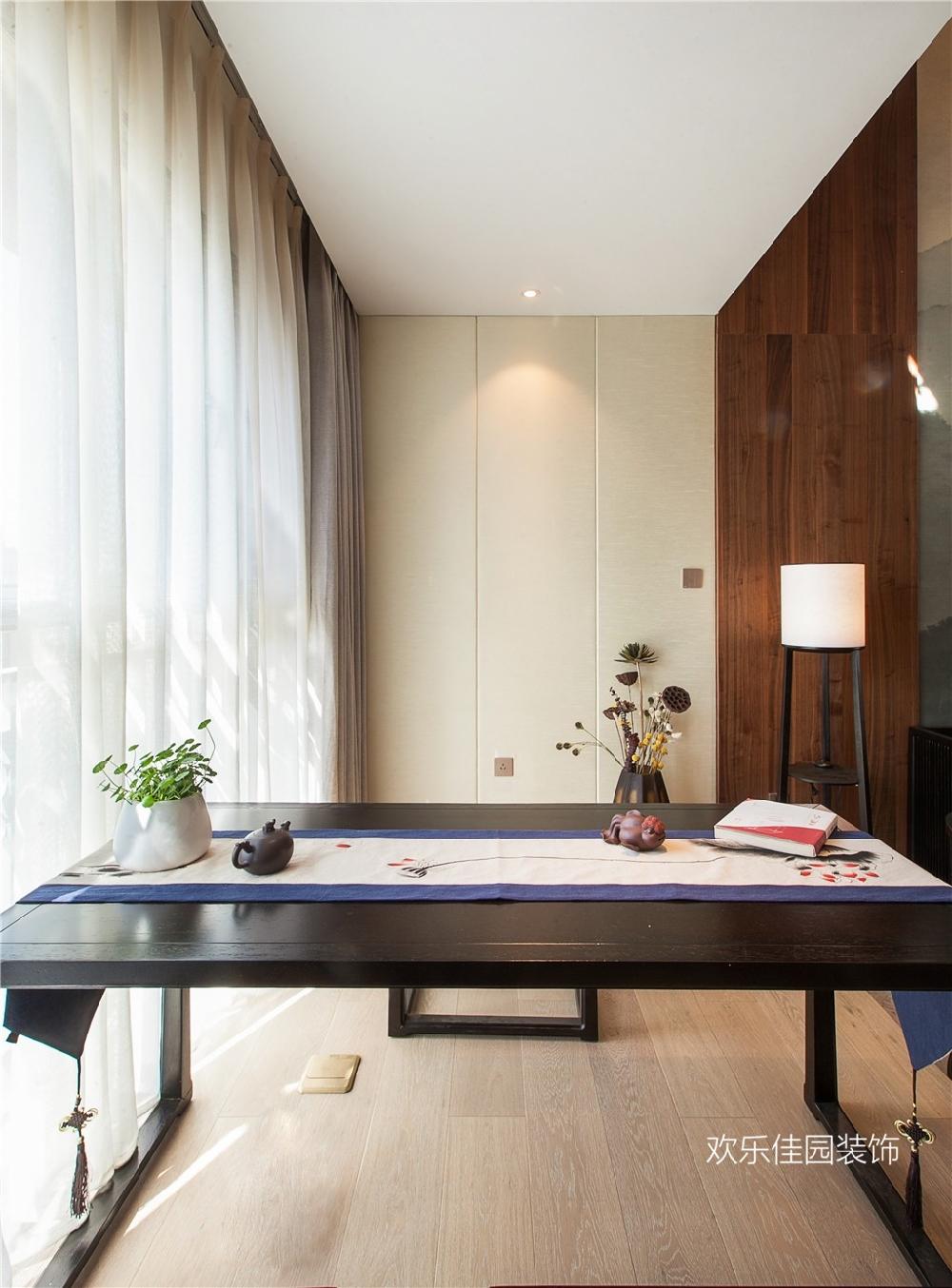 阁楼改复式,大空间新中式的精妙韵味15024514