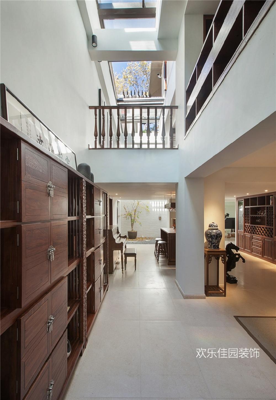 550平別墅,一層美式一層中式15092035