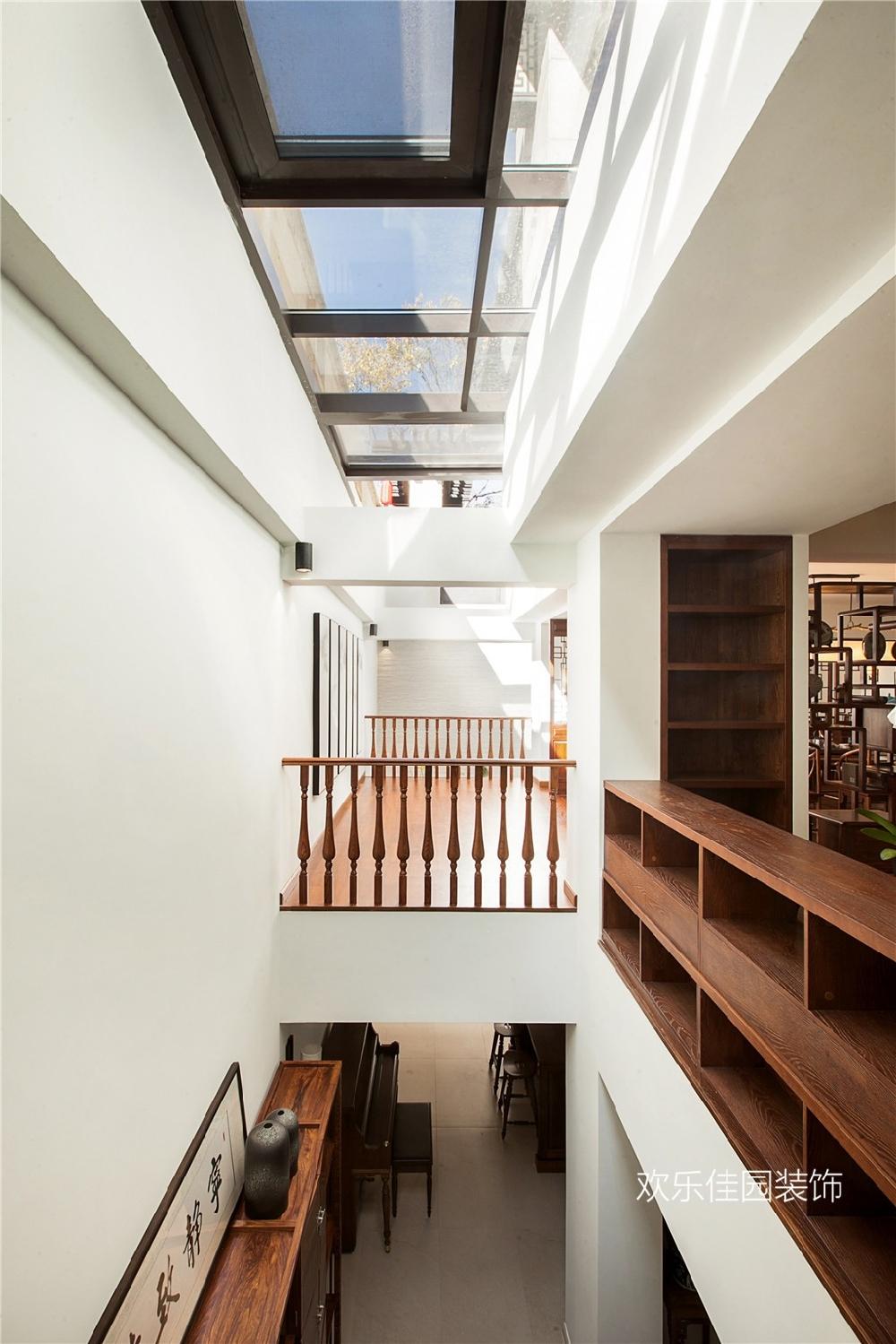 550平別墅,一層美式一層中式15092034
