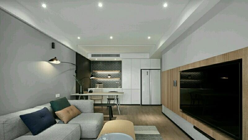 92平兩室一廳北歐極簡家裝15195057