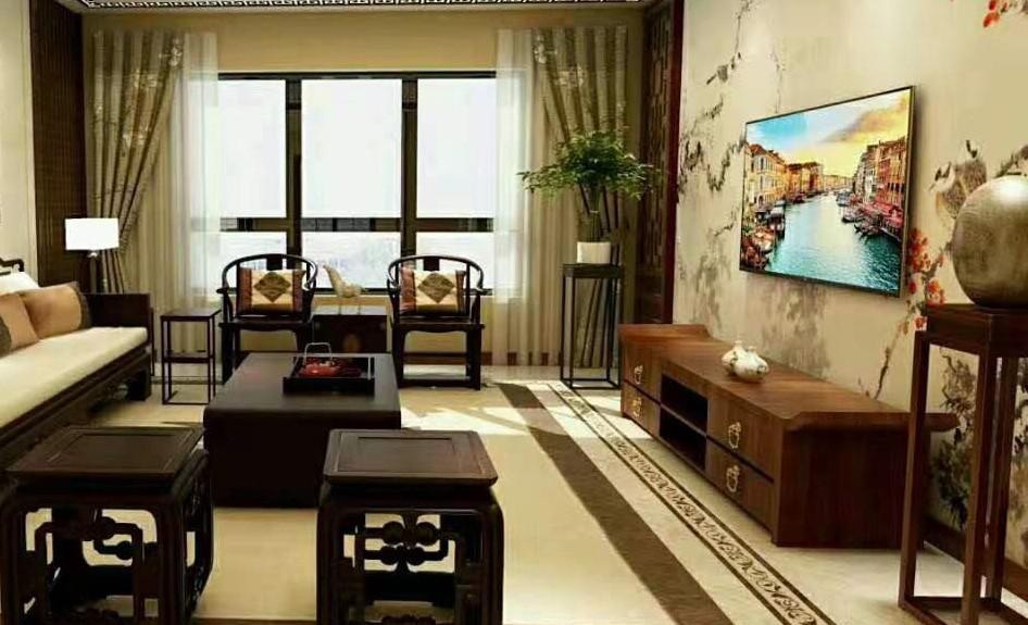 110平新中式三室家裝15221214