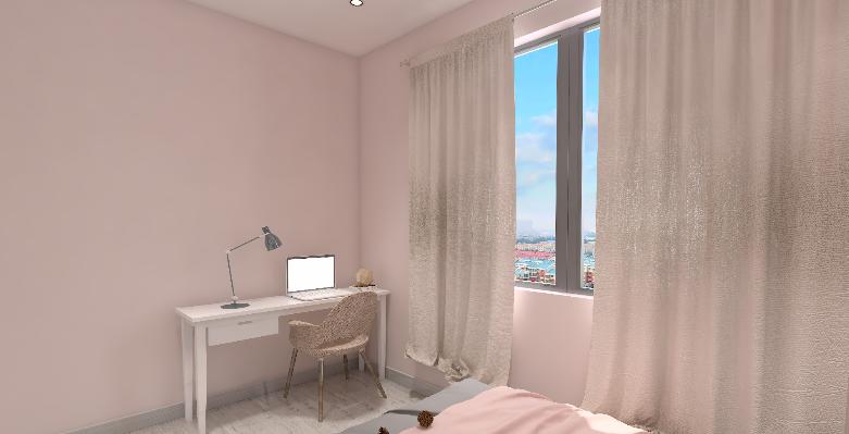 54平米現代一居室,日出印象!15224491