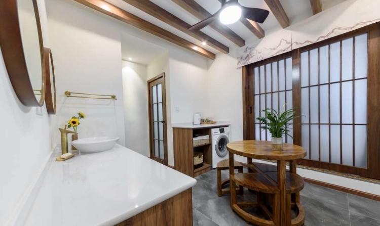 74平 改造房  中式庭院15489805