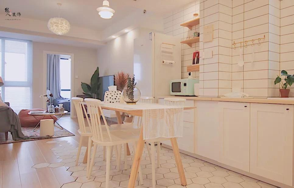 70㎡北歐小二房,簡潔設計,宜家舒適15515984