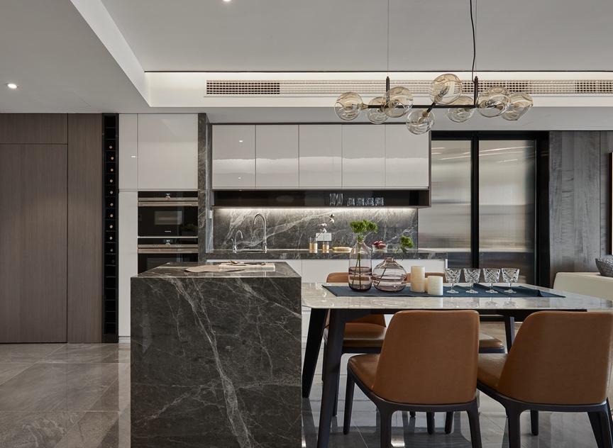 140平方的房屋,看如何用裝修詮釋品質感15937839