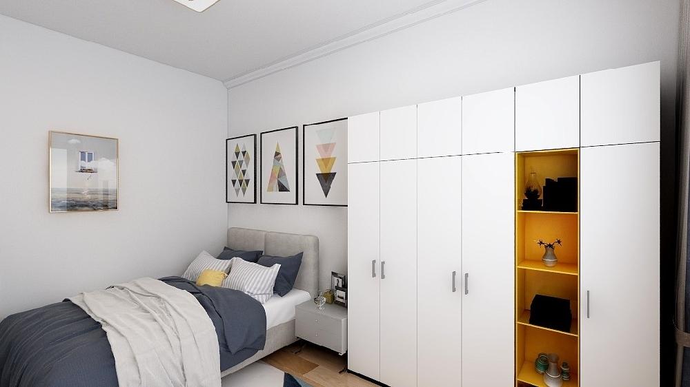 60平米小戶型舊房簡單改造16016779