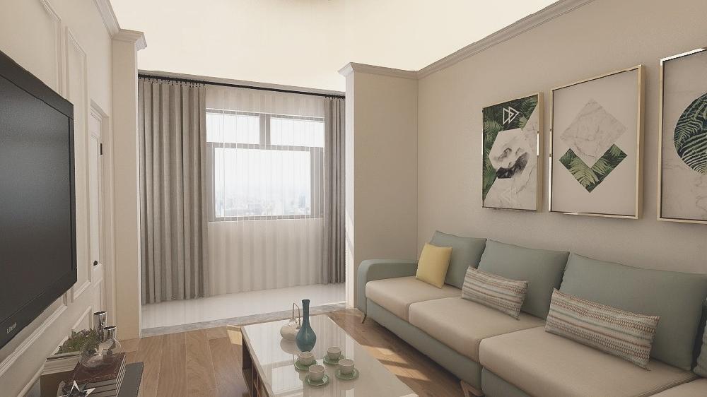 60平米小戶型舊房簡單改造16016774